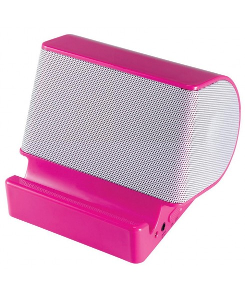 Craig Portable Stereo Speaker with Built-in Stand - Pink