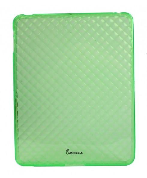 IMPECCA IPS121 Diamond Bubble Flexible TPU Protective Skin for iPad™ - Lime