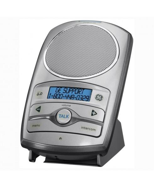 GE DECT 6.0 2-Way Wireless Speakerphone/Intercom System, Silver
