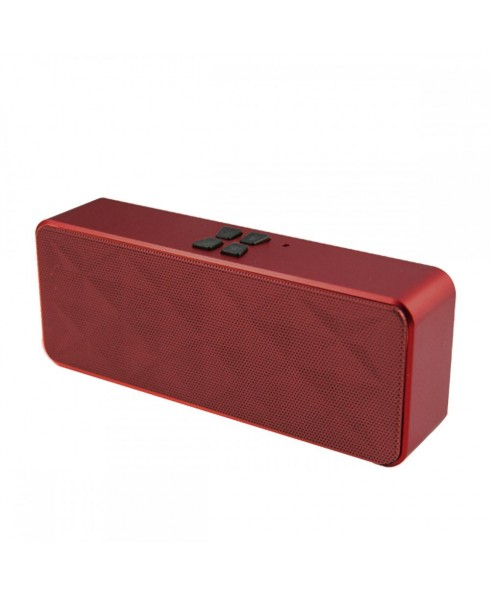 IMPECCA Portable Hi-Fi Stereo Bluetooth Speaker, Maroon