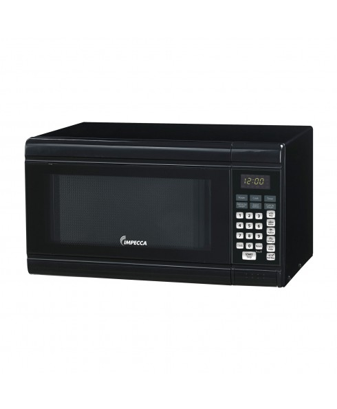 IMPECCA .9 CU FT COUNTER MICROWAVE BLACK