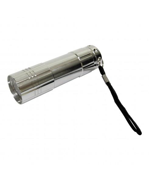 HI-LITE 9 LED FLASHLIGHT, SILVER