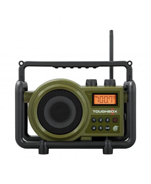 SANGEAN TOUGHBOX DIGITAL AM/FM RADIO GRN