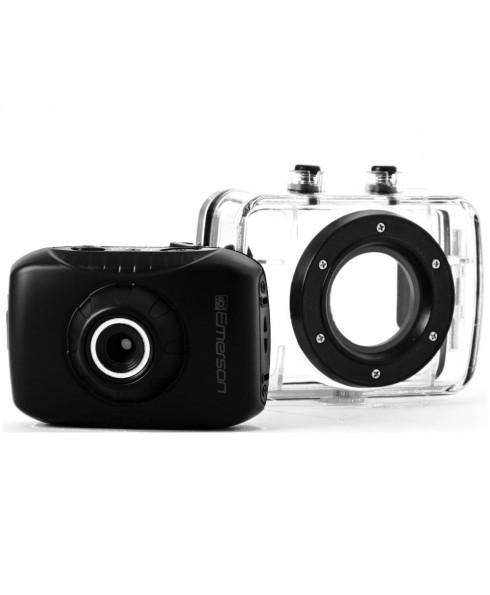 Emerson HD ActionCam Digital Video Camera, Black