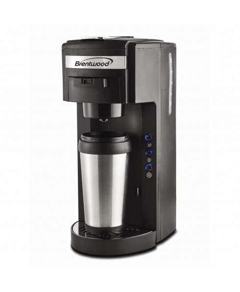 BRENTWOOD K-CUP & SOFT POD COFFEE MAKER