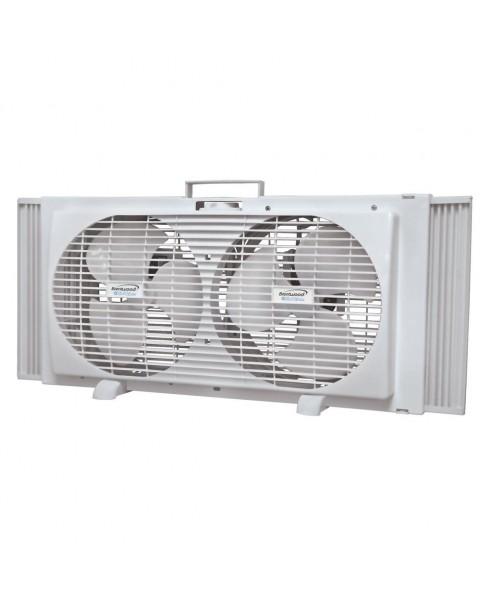 Brentwood 9-inch 2-in-1 Window Fan