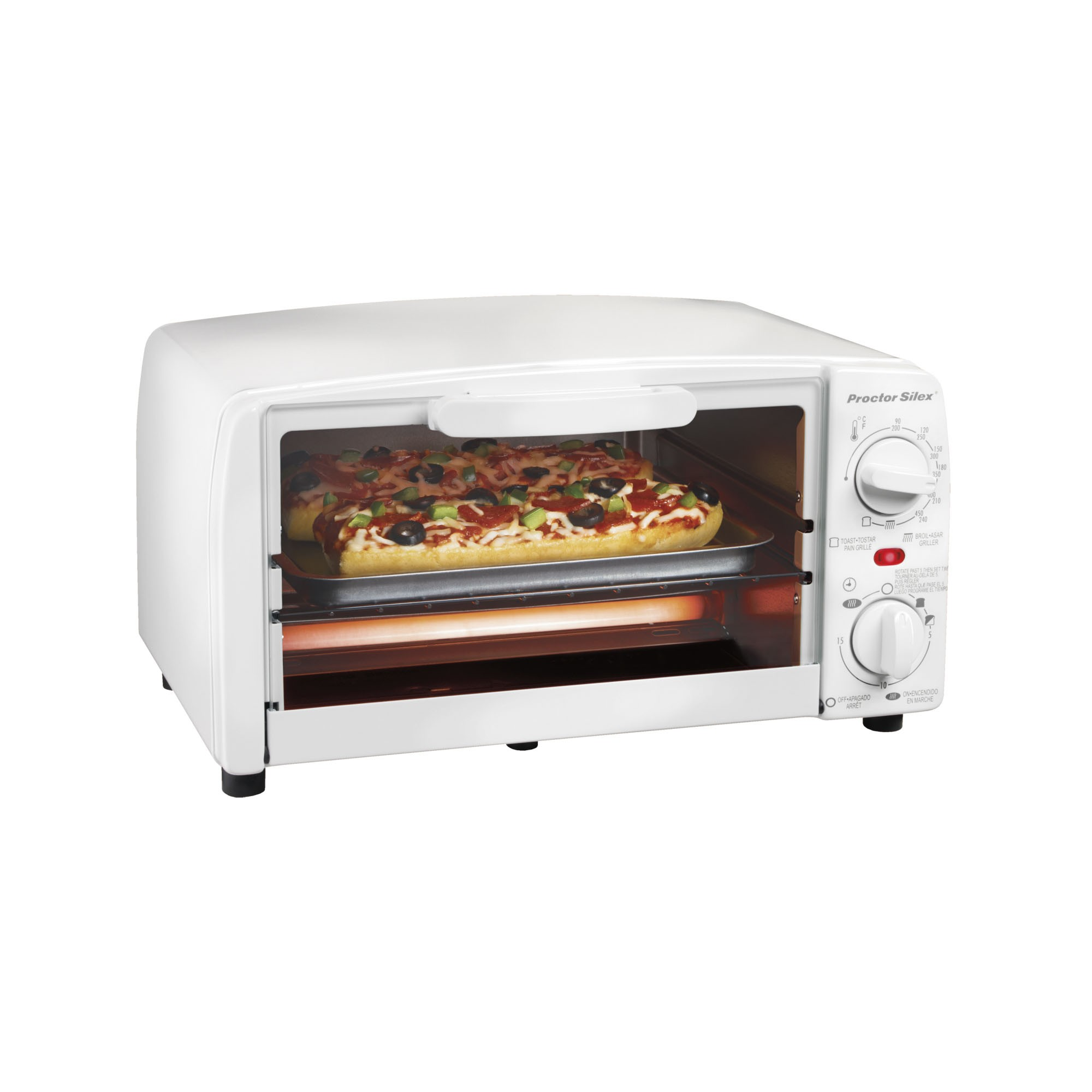 Countertop Oven Broiler : ... Toaster Ovens ?? Proctor Silex Extra-Large Toaster Oven Broiler