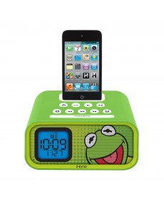 E-KIDS DUAL ALARM CLOCK SPEAKER SYS IPOD