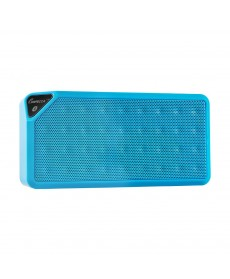 IMPECCA Portable Bluetooth Speaker with Aux Input - Blue