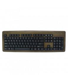 IMPECCA KBB103 Bamboo Designer Keyboard Walnut Color