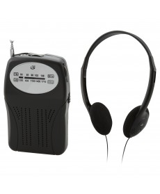 GPX PORTABLE HANDHELD AM/FM RADIO