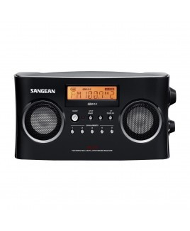 Sangean AM/FM-Stereo RBDS Digital Tuning Portable Receiver, Black