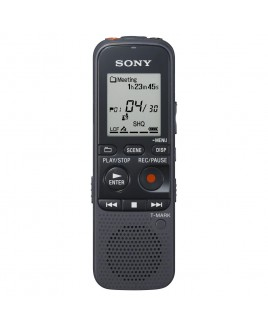 Sony 4GB MP3 Digital Voice Recorder with microSD Card Slot