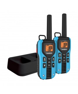 Uniden 40-Mile GMRS/FRS 2-Way Radio 22 Channel, 121 Privacy Codes NOAA Weather Alert with Charging Kit