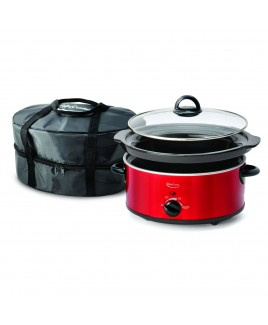 Betty Crocker 5 Quart Slow Cooker with Travel Bag