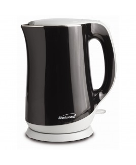Brentwood 1.7 Liter Cool Touch Electric Kettle - Black