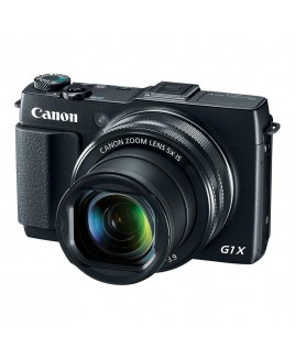 Canon PowerShot G1 X Mark II 12.8MP Digital Camera with 5x Optical Zoom and 3.0-Inch Tilting Touchscreen LCD