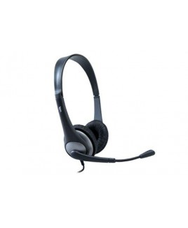 Cyber Acoustics AC-201 Stereo Headset and Noise-Canceling Boom Mic