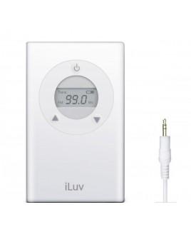 iLuv i701 Digital FM Radio Transmitter, White