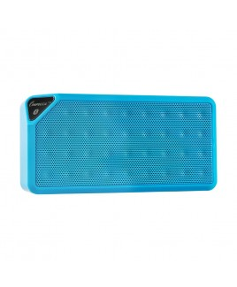 IMPECCA Portable Bluetooth Speaker with Aux Input - Blue
