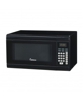 IMPECCA 0.9 CU. FT. Counter-Top Microwave Oven, Black