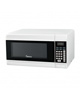 IMPECCA 0.9 CU. FT. Counter-Top Microwave Oven, White