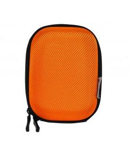 IMPECCA DCS65 Compact Hardshell Cushioned Camera Case - Orange