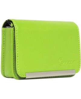 IMPECCA DCS86 Compact Leather Digital Camera Case - Lime