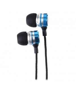 IMPECCA EB301 Metal Stereo Earbuds - Blue