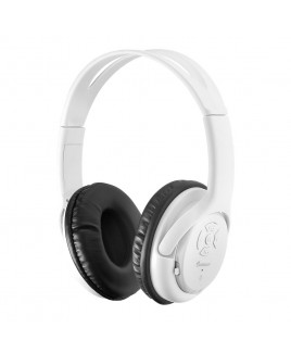 IMPECCA Bluetooth Stereo Headset + Music Player - White