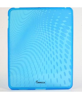 IMPECCA IPS120 Wave Pattern Flexible TPU Protective Skin for iPad™ - Blue