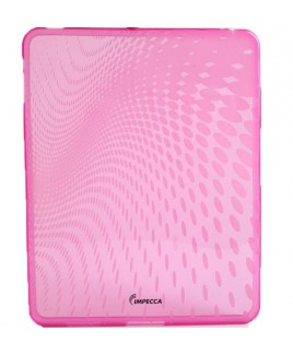 IMPECCA IPS120 Wave Pattern Flexible TPU Protective Skin for iPad™ - Pink