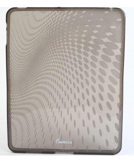 IMPECCA IPS120 Wave Pattern Flexible TPU Protective Skin for iPad™ - Smoke