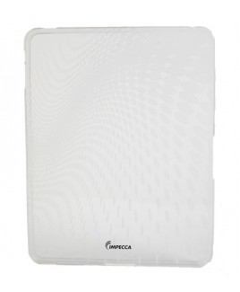 IMPECCA IPS120 Wave Pattern Flexible TPU Protective Skin for iPad™ - White