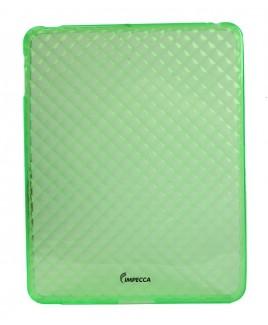 IMPECCA IPS121 Diamond Bubble Flexible TPU Protective Skin for iPad™ - Lime