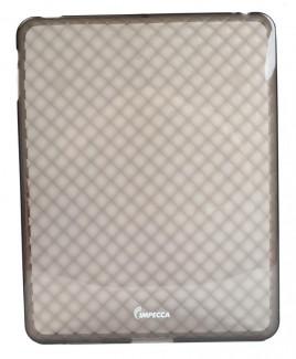 IMPECCA IPS121 Diamond Bubble Flexible TPU Protective Skin for iPad™ - Smoke