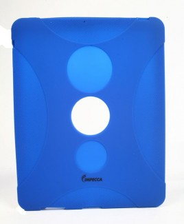 IMPECCA IPS130 Shock Protective Heavy Duty Rubber Skin for iPad™ - Royal Blue