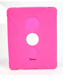 IMPECCA IPS130 Shock Protective Heavy Duty Rubber Skin for iPad™ - Pink