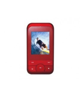 "IMPECCA MP1827 2GB Digital Media Player with 1.8"" Color LCD - Red"