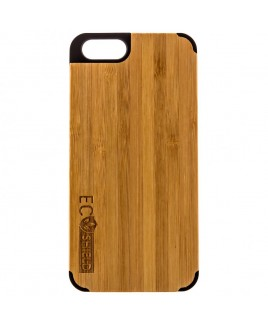 Eco Shield Natural Wood Case for iPhone 6, Shades of Green (made of Bamboo)