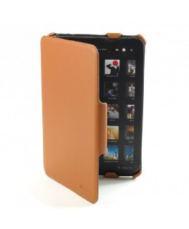 IMPECCA PCX112 Genuine Leather SlimFlip Case for Motorola™‎ Xoom - Brown