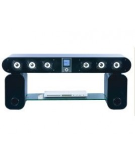 IMPECCA TVS150 Surround Spot Integrated Theater System Television Stand
