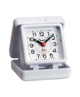 IMPECCA Travel Beep Alarm Clock, White