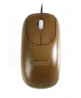 IMPECCA WMB103 Custom Carved Designer Bamboo Walnut Color