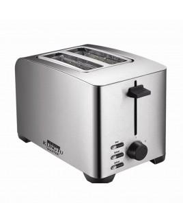 Kung Fu 2 Slice Stainless Steel Toaster