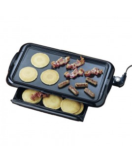 Nostalgia Non-Stick Griddle With Drawer