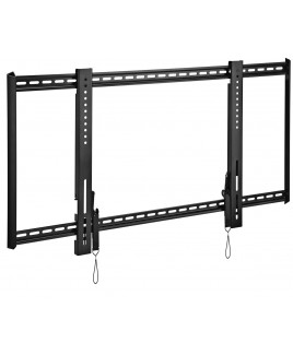 OmniMount Fixed Wall Mount for 55-75 Inch  Flat Panels, Black