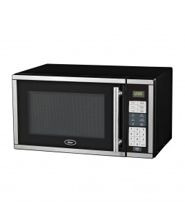 Oster 0.9 CuFt. 900-Watt Digital Microwave Oven Stainless Steel Finish
