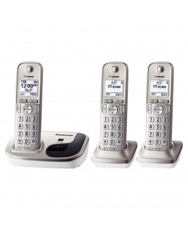Panasonic Expandable Digital Cordless Phone with 3 Handsets
