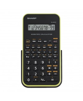 Sharp Scientific Calculator with 131 Functions and Large 10-Digit 1-Line LCD Display